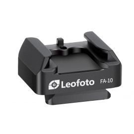 Leofoto QR plate for Cold shoe and Hot shoe adapter FA-10