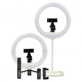 Phottix Nuada Ring 10 LED Light  with Table Top Light stand